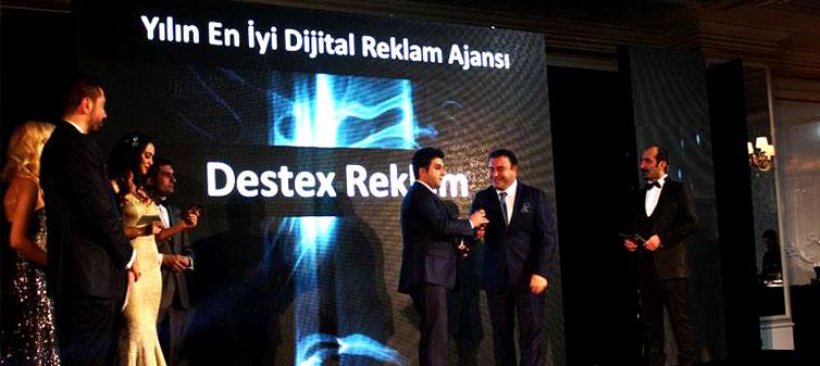 2014'ün En İyi Dijital Reklam Ajansı; Destex Reklam