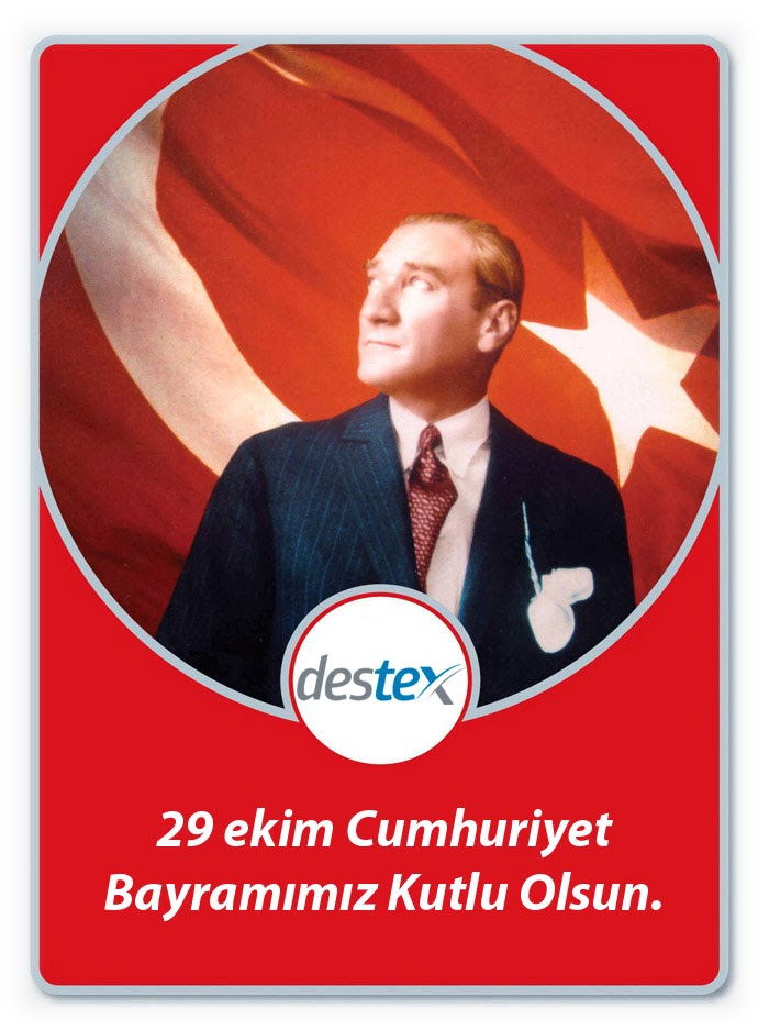 29 EKİM Cumhuriyet Bayramımız Kutlu Olsun