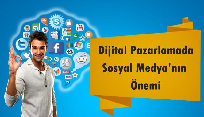 Dijital Pazarlamada Sosyal Medya'nın Önemi