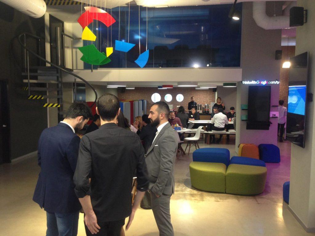 """Google Dome'da """"İnşaat Sektöründeki Dijital Fırsatlar'ı"""" Konuştuk!"""