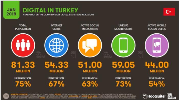 Sosyal Medya İstatistikleri – Demografik Bilgiler