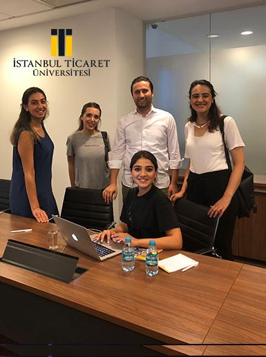 Hoşgeldin İstanbul Ticaret Üniversitesi!
