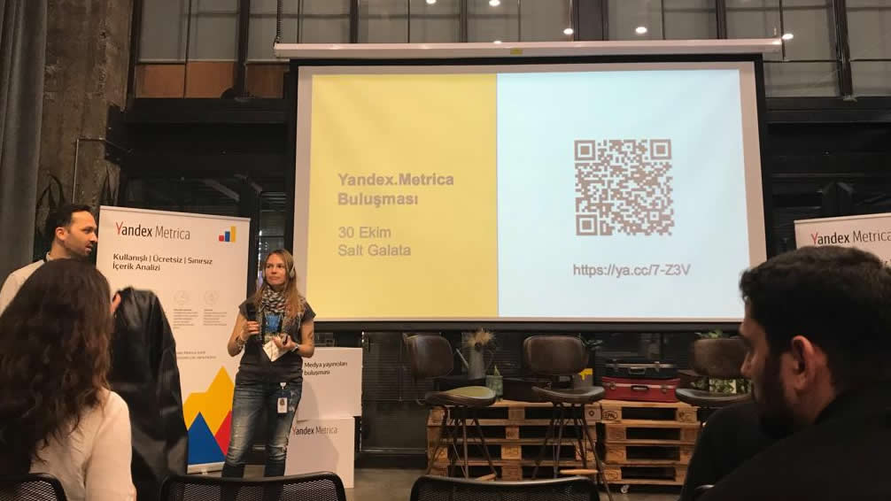 Destex Digital Ekibi Yandex Metrica Yayıncılar Buluşması Etkinliğinde!