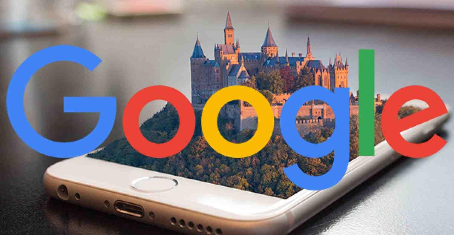 Google Ads Swirl 3D Reklam Modeli